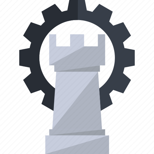 business, casino, chess, game, piece, play, strategy icon