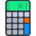 accounting, business, calculate, calculation, calculator, finance icon