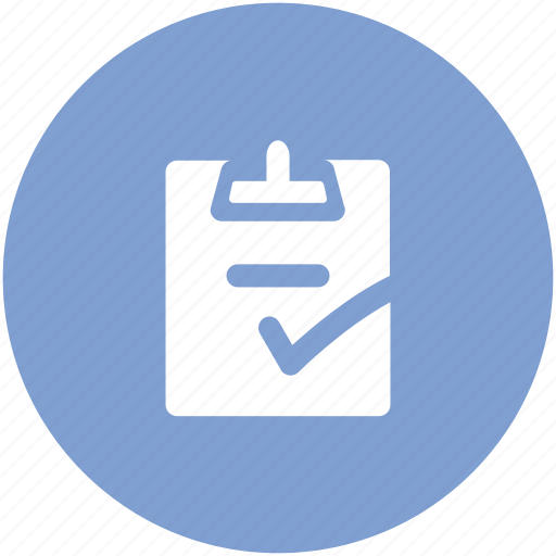 Approved, certified, check, checkbox, checkmark, clipboard, confirm icon - Download on Iconfinder
