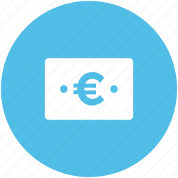 banknote, bill, currency, euro, euro note icon