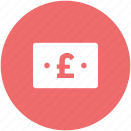 bank note, british currency, british pound, currency, money, note, pound icon