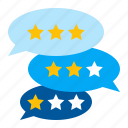 business, comments, critique, review icon