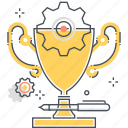 award, competition, cup, golden, leadership, race, trophy icon