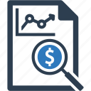 explore, sales report, statistics icon