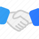 aggreement, business, deal, hand, shake icon
