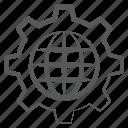 global configuration, global development, global management, global service, global setting