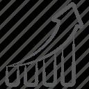bar chart, bar graph, business chart, data chart, growth chart, infographic, statistics