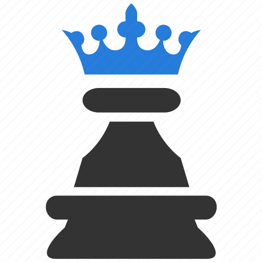 business, chess, effectiveness, game, king, mvp, strategy icon