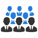 affiliate, audience, organization, people, team, teamwork, users icon