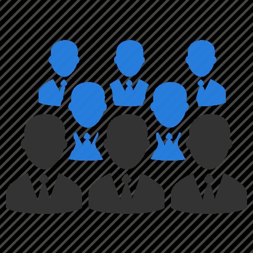 affiliate, audience, organization, people, team, teamwork, users icon