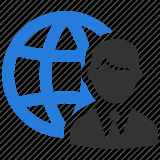 account, business, global, international, organization, profile, user icon