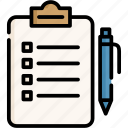 clipboard, office, essential, work, business