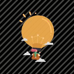 business, idea, creativity, travel, innovation, thought, lightbulb
