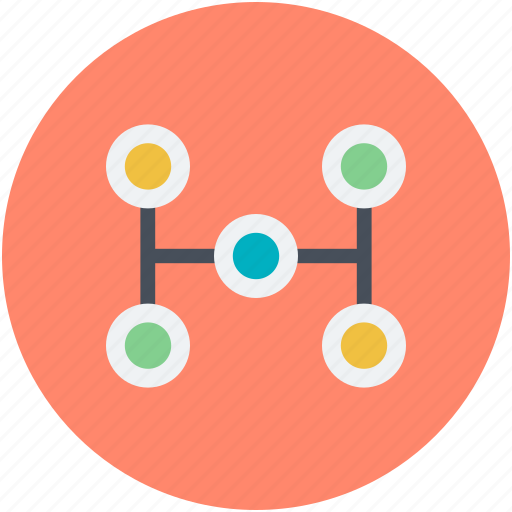 business networking, business process, management, organization structure, workflow icon