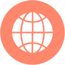 earth, earth grid, globe, planet, world, worldwide icon