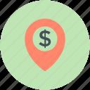 bank location, bank location pin, location marker, map locator, map pointer