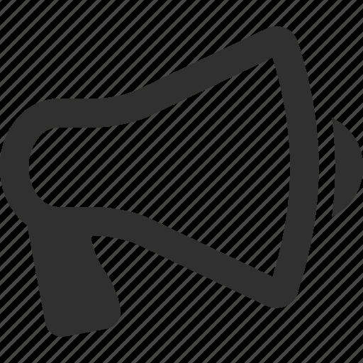 megaphone, news icon