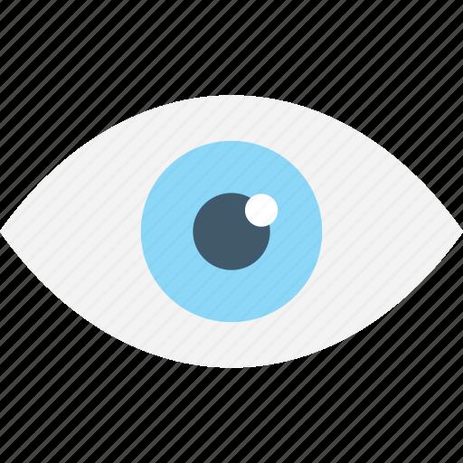 eye, human eye, look, observe, watch icon