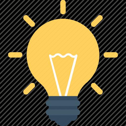 bulb, creative idea, idea, invention, light icon