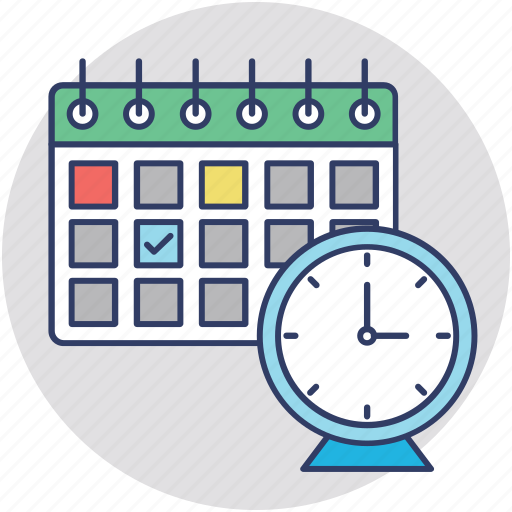 planning, scheduling, scheming, time management, time to plan icon