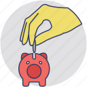 emergency funds, penny bank, piggy bank, retirement, savings