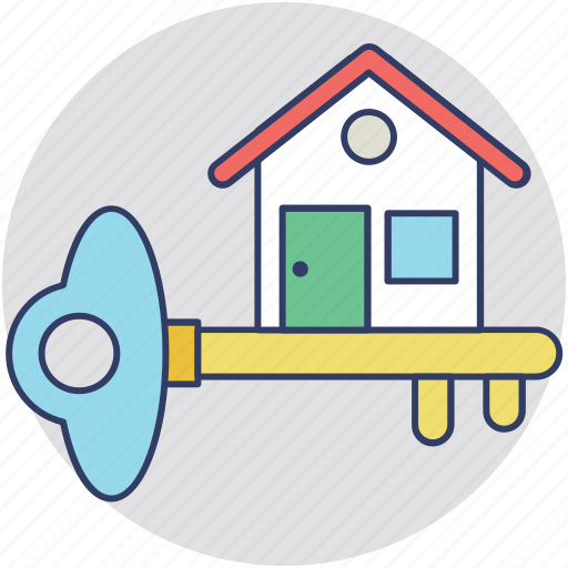 home buying, home ownership, house key, new home, real estate icon