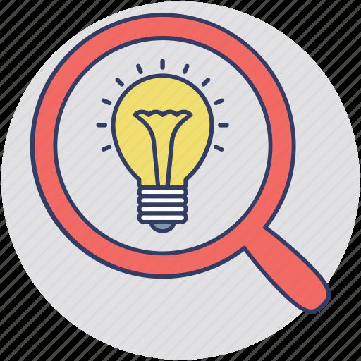 big idea, creative idea, creative process, idea research, innovation icon