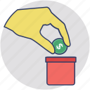 piggy bank, penny bank, retirement, emergency funds, savings icon