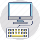 computer, computing, desktop, office, workplace icon