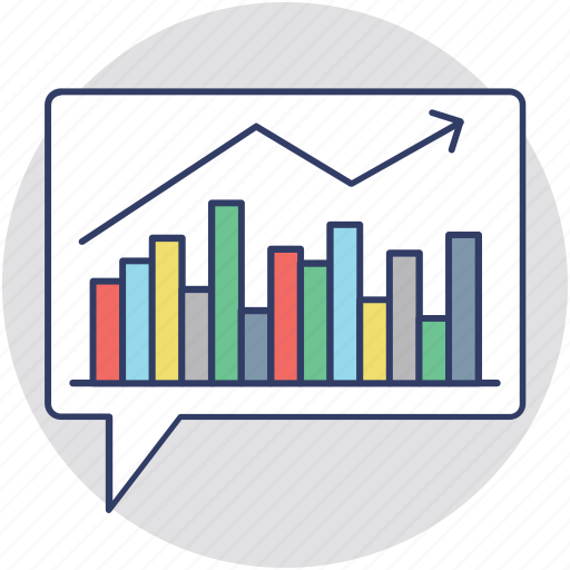 analytics, bar chart, bar diagram, business graph, geographic information icon