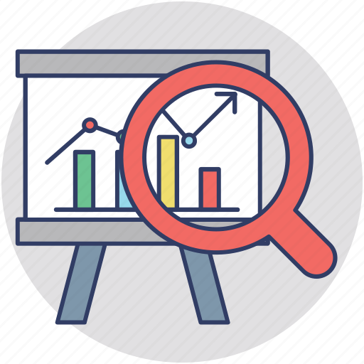 business analysis, business solutions, market analysis, market intelligence, market research icon