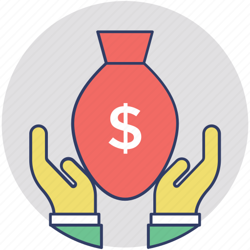 donation, funding, fundraising, raising money, volunteer icon