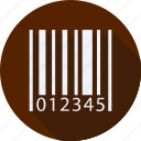 barcode, business, finance, financial, profit, statistics icon