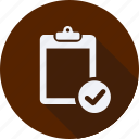 business, clipboard, finance, financial, profit, statistics icon