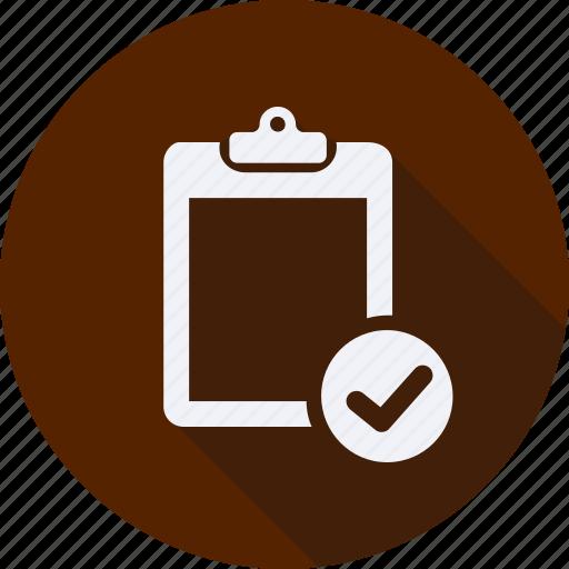 business, clipboard, finance, financial, profit, statistics icon