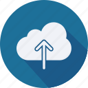 business, cloud, computing, finance, financial, profit, statistics icon