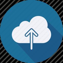 business, cloud, computing, finance, financial, profit, statistics icon