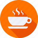 business, coffee, cup, finance, financial, profit, statistics icon