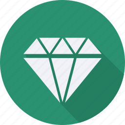 business, diamond, finance, financial, profit, statistics icon