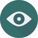 business, eye, finance, financial, profit, statistics icon