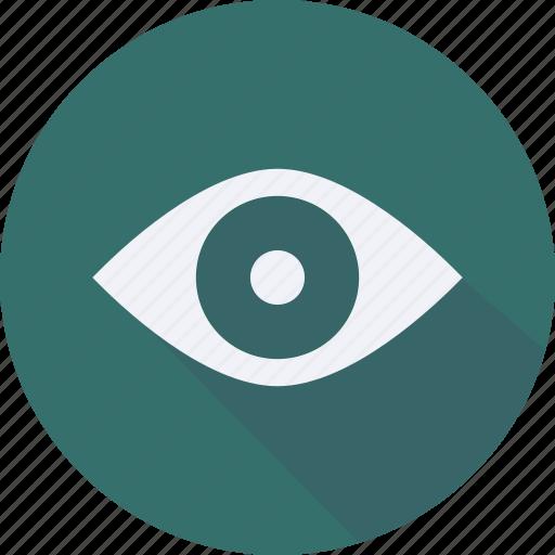 business, eye, finance, financial, profit, statistics icon