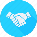 business, finance, financial, handshake, profit, statistics icon
