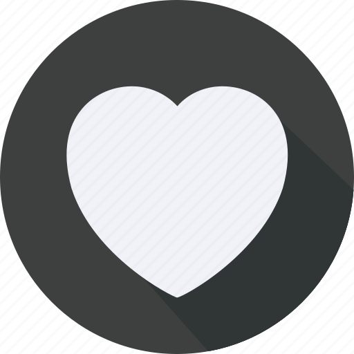 business, finance, financial, heart, profit, statistics icon