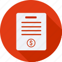 business, finance, financial, invoice, profit, statistics icon