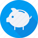 bank, business, finance, financial, piggy, profit, statistics icon