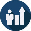 business, finance, financial, growth, profit, statistics icon