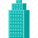 building, business, construction, hotel, office, room, workplace icon
