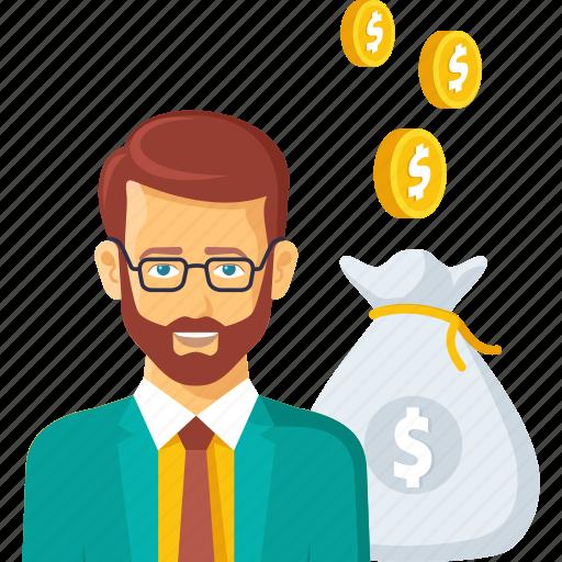 bag, bank, budget, business, help, loan, money icon