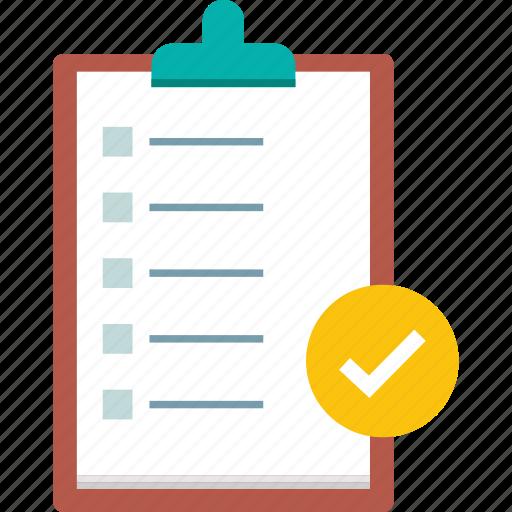 analytics, business, checklist, list, report icon