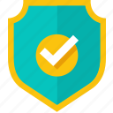 password, privacy, protect, secure, security, shield, unlock icon